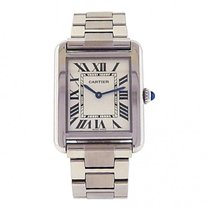 Cartier Men's Stainless Steel Cartier Tank Solo Bracelet...
