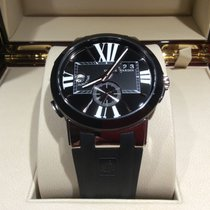 Ulysse Nardin Executive Dual Time Black