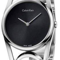 ck Calvin Klein round Damenuhr M K5U2M141
