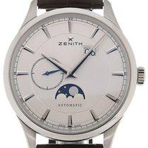 Zenith Elite 40 Moon Phase Silver Dial