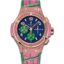 Hublot Big Bang 41 MM Pop Art Automatic Chronograph 18K Red...