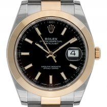 Rolex Datejust II Stahl Gelbgold Automatik Armband Oyster...