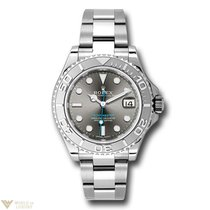 Rolex Oyster Perpetual Yacht-Master Stainless Steel &...