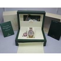 Rolex Call Now gem Datejust MOP Oyster 116203 37mm w/Box &...