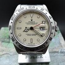 롤렉스 (Rolex) EXPLORER 2 16550 CREAMY DIAL – unisex watch –...