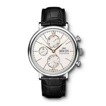 IWC Portofino Chronograph  Silver Dial Automatic IW391022 Mens...