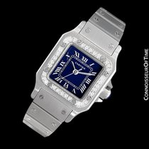 Cartier Santos Ladies Automatic Watch with Date - Stainless...