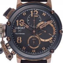 U-Boat Italo Fontana Chimera Black and Bronze Stahl Bronze...