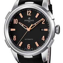 Perrelet A1068.3 Class-T 3 Hands Date Mens Automatic in Steel...