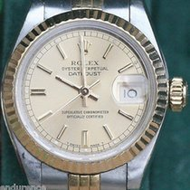 Rolex Ladies Datejust Quickset Two Tone Gold Steel 26mm Model...