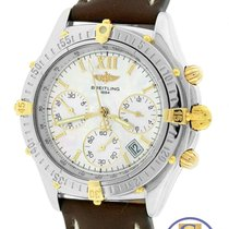 Breitling Windrider Jetstream Chronograph 36mm MOP B55348 Two...