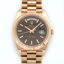 Rolex Day-Date II President 18K Solid Rose Gold Automatic
