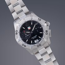TAG Heuer Aquaracer Alarm stainless steel quartz watch