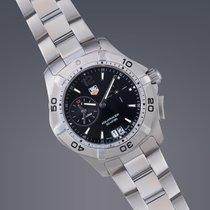 TAG Heuer Aquaracer Alarm stainless steel quartz watch