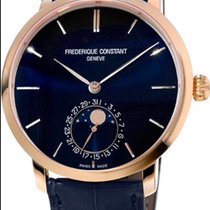 Frederique Constant Manufacture Slimline Moonphase Gold Plated