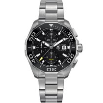 TAG Heuer Aquaracer 300M Chronograph Ceramic Lunette CAY211ABA...