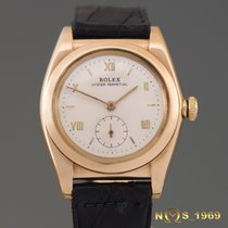 Rolex Bubble Back  Ref.3130   14K Rose Gold