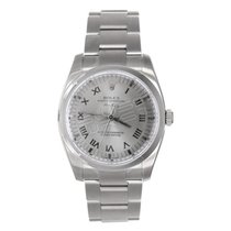 Rolex Air-King Heavy Band Model 114200 Smooth Bezel with...