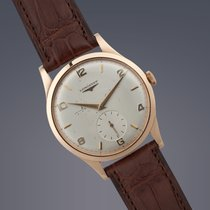 Longines Oversize 18ct Rose gold manual
