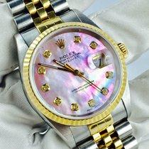 Rolex Datejust Perlmutt Diamanten Zifferblatt  [Million Watches]