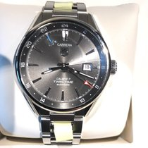 TAG Heuer Calibre 7 Twin-Time Automatik 41mm