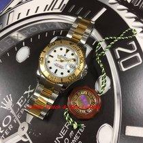 勞力士 (Rolex) 168623 Yacht-MasterGold & Steel White dial W...
