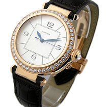 Cartier WJ120151 Pasha 42mm with Diamond Bezel - Rose Gold on...