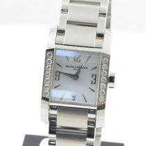 Baume & Mercier Hampton Damen Uhr Mit Brillianten Stahl...