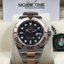 Rolex Yacht-Master Everose Gold Steel Two-Tone black dial