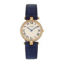 卡地亚 (Cartier) Must de Cartier 0696 18k Yellow Gold Blue...