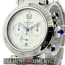 カルティエ (Cartier) Pasha Collection Pasha Chronograph Stainless...