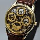 Πιαζέ (Piaget) Skeleton Moonphase Triple Date Calendar 18K...