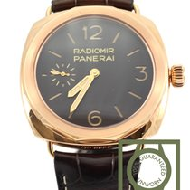Panerai Radiomir pink gold oro rosso limited 100 Pam522 NEW