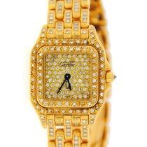 Cartier Panthere Factory Diamonds 18K Yellow Gold