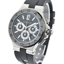 Bulgari DG42BSCVDCH Diagono 42mm Chronograph - Ceramic Bezel -...