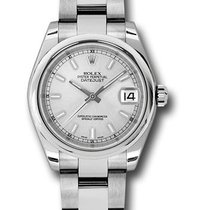 Rolex Used 178240_used_ss DateJust 31mm with Smooth Bezel in...
