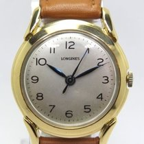 Longines Vintage Fancy Lugs Mechanical Movement 18k.Yellow...