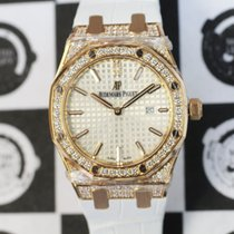 Audemars Piguet 67652OR.ZZ.D011CR.01 Royal Oak Quartz Rose Gold
