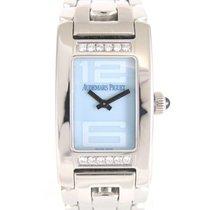 Audemars Piguet Promesse blue dial with diamonds