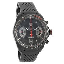 TAG Heuer Grand Carrera Black Swiss Automatic Watch CAV518B.FT...