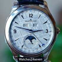 Jaeger-LeCoultre Master Calendar Meteorite Dial Steel Watch...
