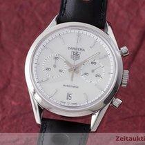 TAG Heuer Carrera Chronograph Automatik Herrenuhr Stahl Cv2115