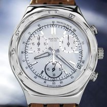 Swatch Irony Mens Stainless Steel Men's Swiss Made c2000...