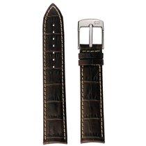 Hamilton Lederband braun XL 24/22mm H600.100.224