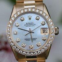 Ρολεξ (Rolex) Ladies Midsize President 18k Yellow Gold 1959...