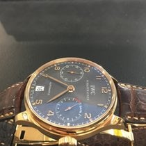 IWC Portuguaise limited edition power reserve 7 days Pink gold