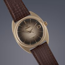 Omega Constellation 'C-Shape' gold capped automatic...