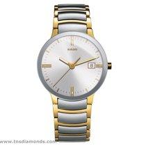 Rado New Rado Centrix Two-Tone PVD Gold Silver Dial R30931103...