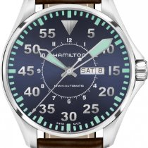 Hamilton Khaki Aviation H64715545 Herren Automatikuhr Sehr gut...