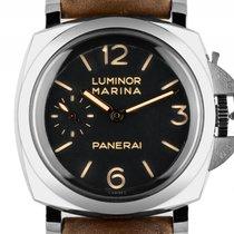 Panerai Luminor Marina 1950 3 Days Stahl Handaufzug Armband...